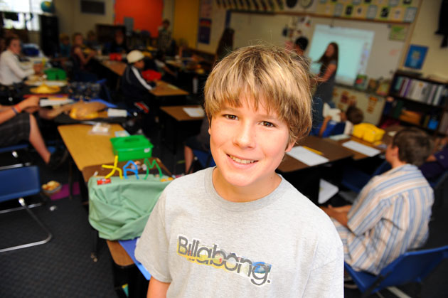 <p>Washington School sixth-grader Zac Pfeifer says the Mental Health Matters program helped raise his awareness of psychological issues, and how to better interact with those suffering from various disorders.</p>