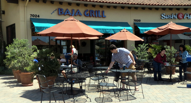 When it comes to Mexican food, Goleta residents will soon have their aha momement after Los Agaves Restaurant opens a new location at the former Baja Grill at Camino Real Marketplace. (Gina Potthoff / Noozhawk photo)
