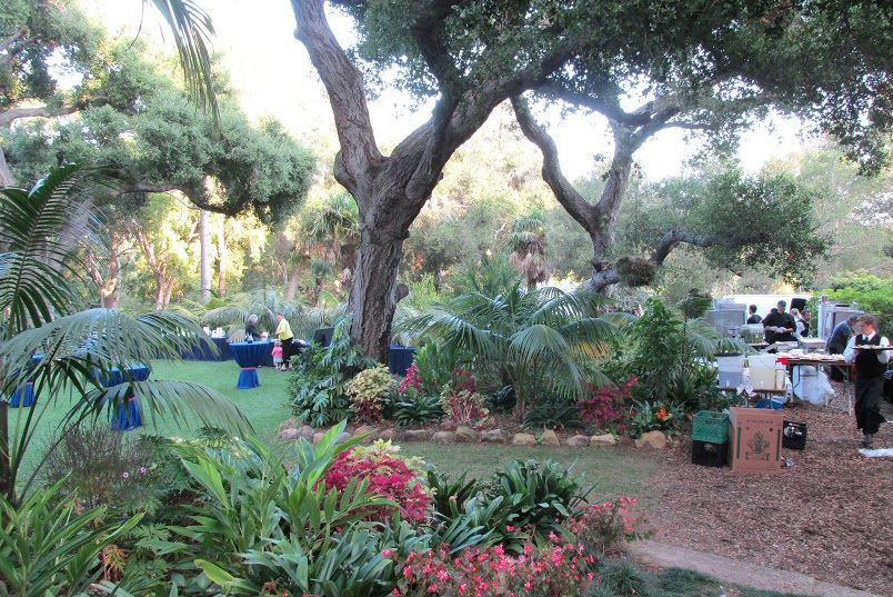 Another view of the El Mirador Estate gardens.