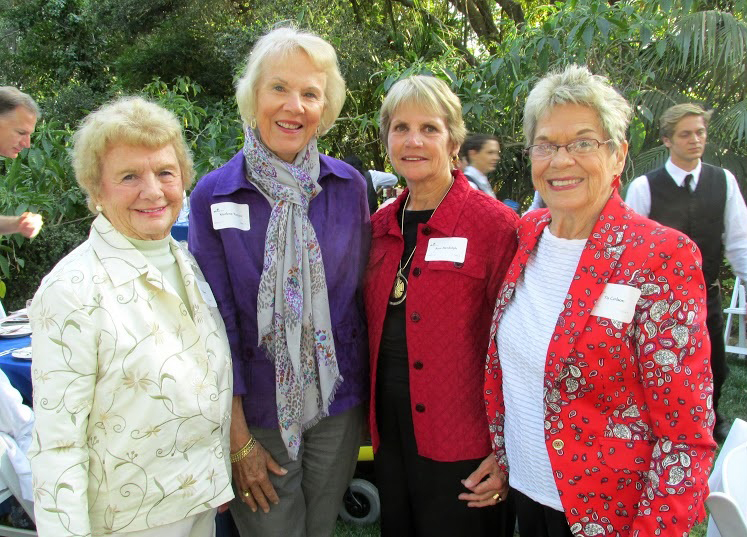 Assistance League members, from left, Sue Hebert, Marla Reiner, Ann Rudolph and Tis Carlson.