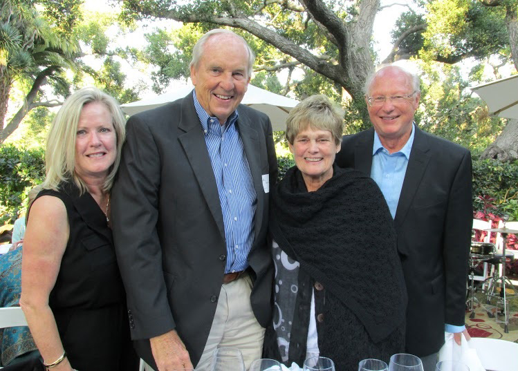 Karen and Dave Morley, left, and Sandy and Gordon Hess all enjoyed the El Mirador Wine Challenge.