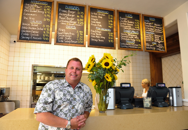 Glenn Montag is manager of the newly reopened Padaro Beach Grill in Carpinteria.