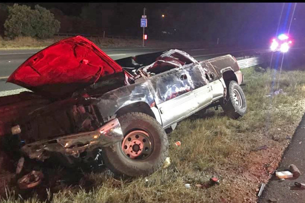 Fatal Rollover Crash Shuts Down Southbound Highway 101 in
