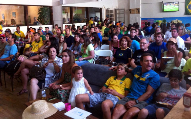 <p>Brasil Arts Cafe at 1230 State St. in Santa Barbara will show all of the World Cup games in its large studio and viewing space.</p>