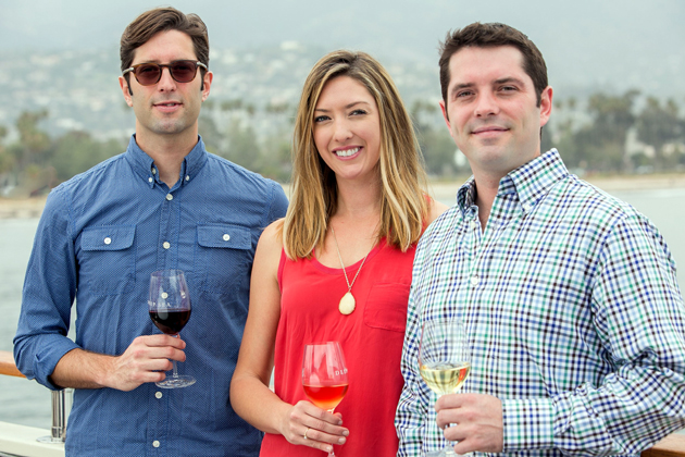 <p>Siblings Tom Conway, John Conway and Gillian Conway run the Deep Sea Tasting Room and Conway Family Wines on Stearns Wharf.</p>
