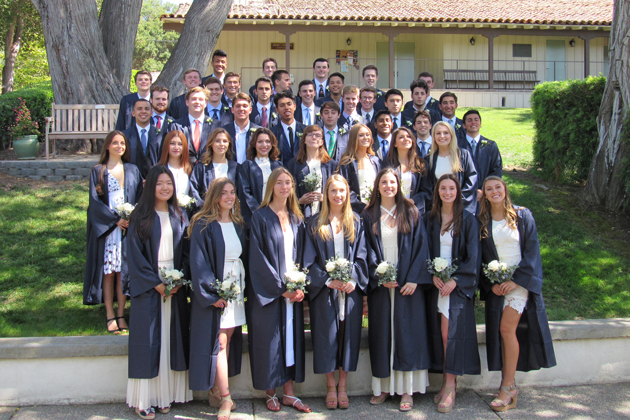 Laguna Blanca's Class of 2016 celebrates commencement Wednesday.