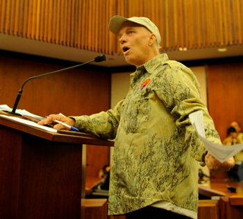 "Resident Jeff Bard defended the NRC and said having a ""vendetta"" against the Diablo Canyon plant is counterproductive."