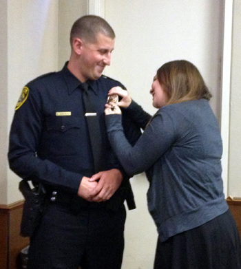 officer pinning