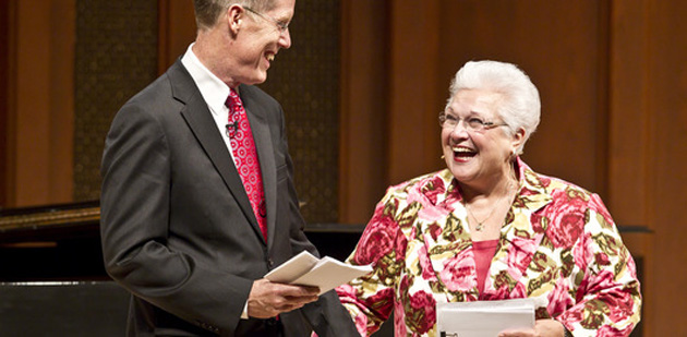 Music Academy of the West superstars Warren Jones and Marilyn Horne will introduce the voice and vocal piano fellows for this year's Summer Festival.
