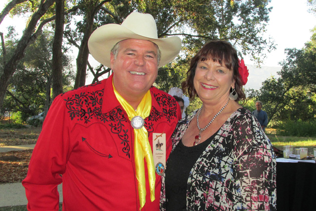 2015 Old Spanish Days El Presidente Cas Stimson and Goleta Mayor Paula Perotte celebrate Fiesta Ranchera on Thursday at Rancho La Patera and Stow House in Goleta.