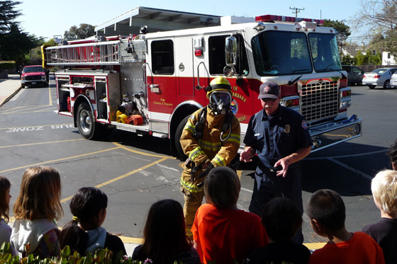 <p>Volunteers have been instrumental in assisting the Santa Barbara Fire Department with its public education outreach programs.</p>