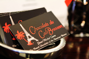 Chocolats du CaliBressan opened in Carpinteria in 2007 and recently expanded to Santa Barbara.