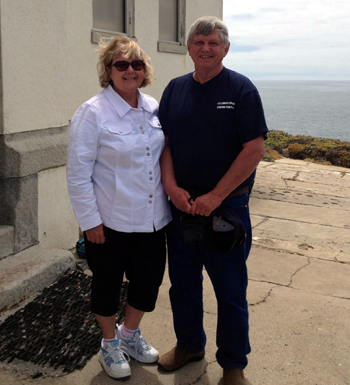 U.S. Coast Guard retiree Bruce Drugg manned the Point Conception Lighthouse with his wife, Sandi, from 1969 to 1971. (Santa Barbara Maritime Museum photo)