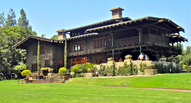 <p>The Gamble House in Pasadena&#8217;s &#8216;Bungalow Heaven&#8217; area is open to tourists and well worth seeing.</p>