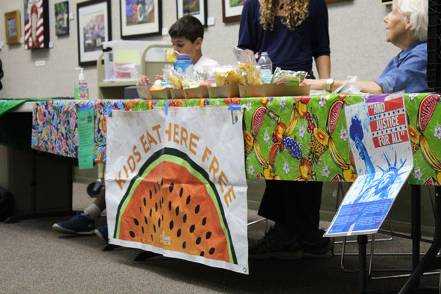 The Foodbank of Santa Barbara County runs 15 summer spots where kids and teens can receive a free, healthy lunch, including at the Central Library at 40 E. Anapamu St. in Santa Barbara.