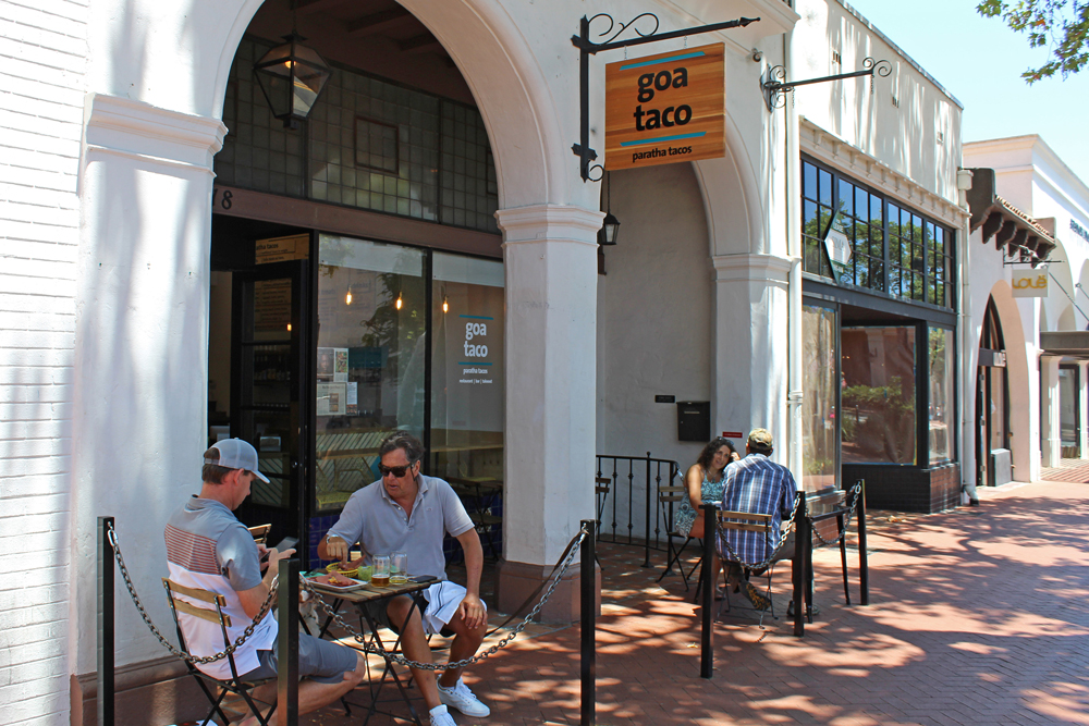 Goa Taco opened June 14 in the home of the former Gandolfo's at 718 State Street in Santa Barbara.