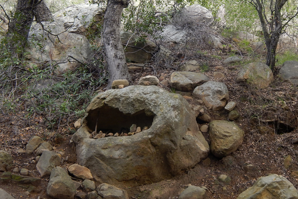 Rock Monster at Rattlesnake Canyon with human alterations and animism.