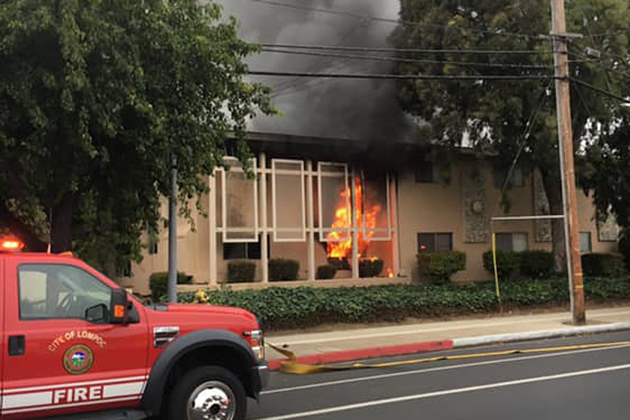 One Person Dead After Fire at Lompoc Apartment Complex