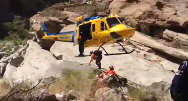 <p>Santa Barbara County Search &amp; Rescue joined mountain rescue personnel from Ventura, Fresno, Kern, Los Angeles and Orange counties over the weekend in searching the rugged backcountry north of Fillmore for a man who went missing more than a week ago while camping in the area.</p>