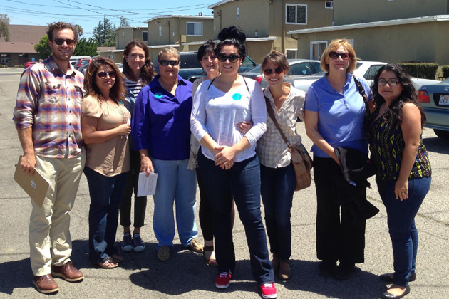 Volunteers spent last Saturday contacting motels and hotels in Lompoc to educate them about how to identify children at risk of trafficking and to urge them to report that activity to law enforcement.
