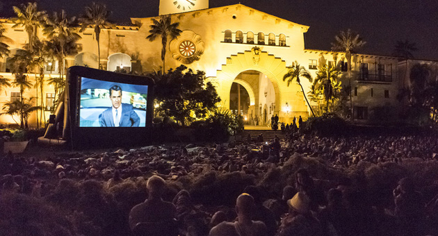 <p>A summer film series courtesy of UCSB Arts &amp; Lectures and collaborators will return to the Santa Barbara Courthouse Sunken Garden on Friday, July 11 with the theme &#8220;Chaplin, Keaton, Lloyd: Comedy Classics of the Silent Era.&#8221;</p>
