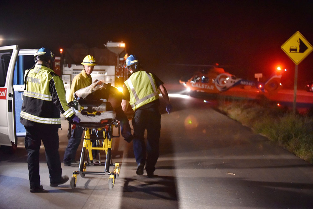 A June 26 rescue-and-recovery operation at a fatal crash scene in the 2900 block of Gibraltar Road was a grueling — and gruesome — undertaking in the Santa Barbara foothills.