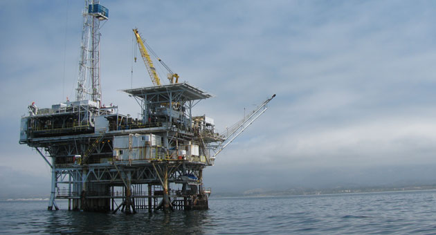 <p>Oil produced from Platform Holly, which sits off the Isla Vista coast, would be subject to a $1-per-barrel tax if Santa Barbara County follows a Grand Jury recommendation to impose an oil-production tax.</p>