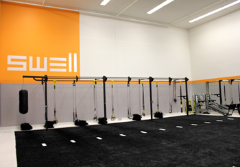 Upgraded equipment is among changes to the Santa Barbara Athletic Club, now known as Swell. (Alex Kacik / Noozhawk photo)