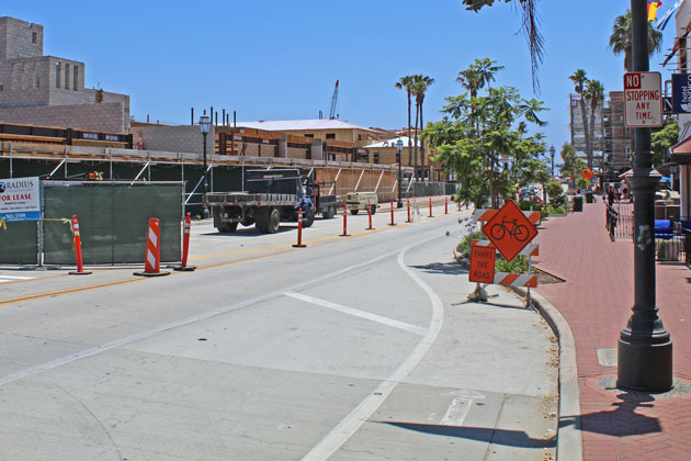Santa Barbara's Lower State Street between Yanonali Street and Cabrillo Boulevard reopened Friday, providing some relief to businesses in the area.