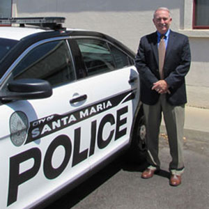 With growing criticism amid rising homicide rates, Santa Maria Police Chief Ralph Martin says his department is working hard to stem the violence and solve the crimes.