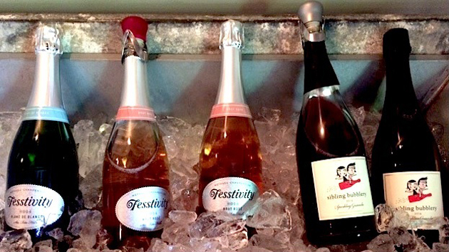 "Fess Parker Wines also makes the ""Fesstivity"" label, all sparkling wines."