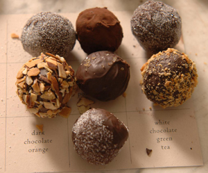 Confectioner Jessica Foster says everything pairs well with dark, milk or white chocolate in the right quantity.
