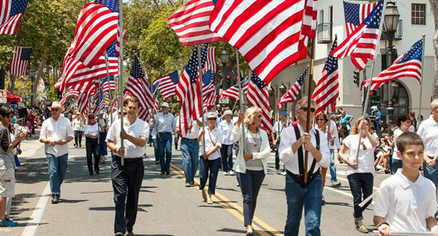 <p>U.S. flags will be on full display for Fourth of July festivities planned around Santa Barbara County.</p>