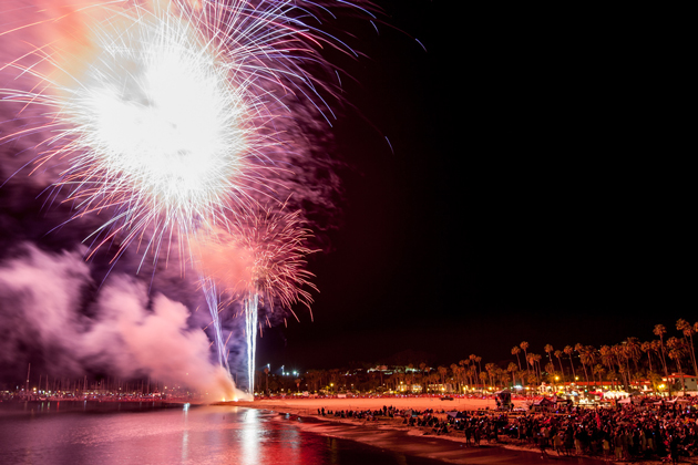 Santa Barbara Celebrates Independence Day with Fireworks, Parade ...