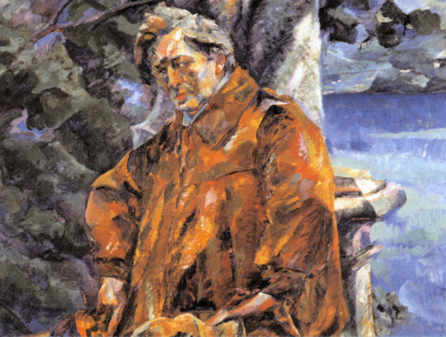 <p>This colorful portrait of Ferrucio Busoni was painted in 1916 by Roberto Biccioni.</p>