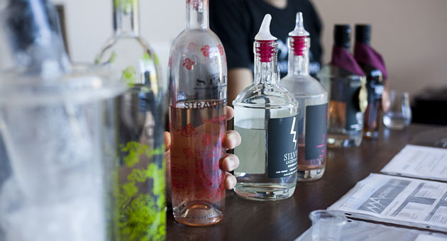 <p>Ascendant Spirits, with its wide variety of vodka, moonshine and bourbon, offers a slice of Americana in the Santa Ynez Valley.</p>