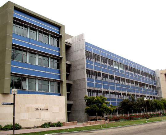 UCSB's Life Sciences building has received a LEED Silver certification from the U.S. Green Building Council in the existing-buildings category. Construction of the facility was completed in 2003.