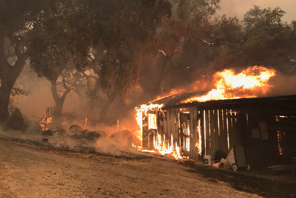Multiple fires ignite in the county