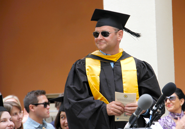 <p>Casey O'Hara received both the University Award of Distinction and the MESM Academic Achievement Award at the UCSB Bren School&#8217;s commencement ceremony in June.</p>