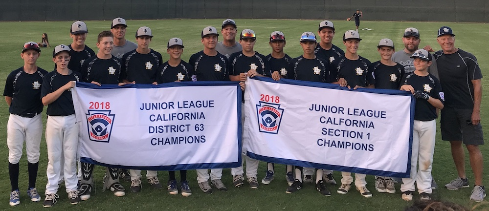 Dos Pueblos LL Junior All Stars Section champions