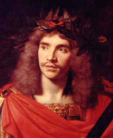 To avoid shaming his father by putting his name on a marquee, Jean-Baptiste Poquelin called himself Molière.
