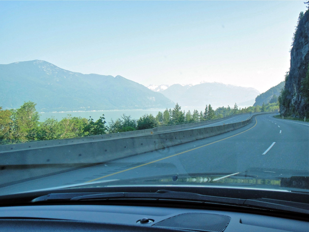 The scenic Sea to Sky Highway in British Columbia spans Vancouver to Whistler, with breathtaking views along the way.