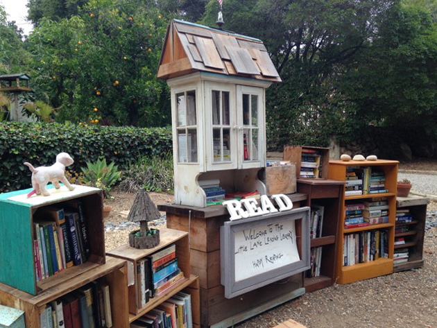 The best Little Free Library in town.