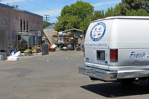 Eastside residents have protested the Santa Barbara Fish Market's use of a warehouse at 528 N. Quarantina St. The city attorney has sent the business a letter requesting a cease of all seafood processing at the site due to zoning violations.