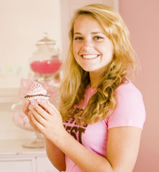 Blakely Colvin of Solvang used her love of cupcakes to create the nonprofit Cupcakes for Cancer in 2007.