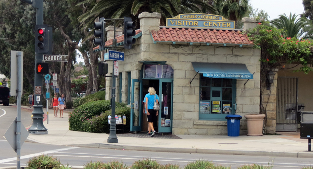 <p>The Chamber of the Santa Barbara Region's Visitor Center at the corner of Cabrillo Boulevard and Garden Street is one of several tourism-boosting entities set to receive an annual allotment of funding Tuesday from the Santa Barbara City Council.</p>