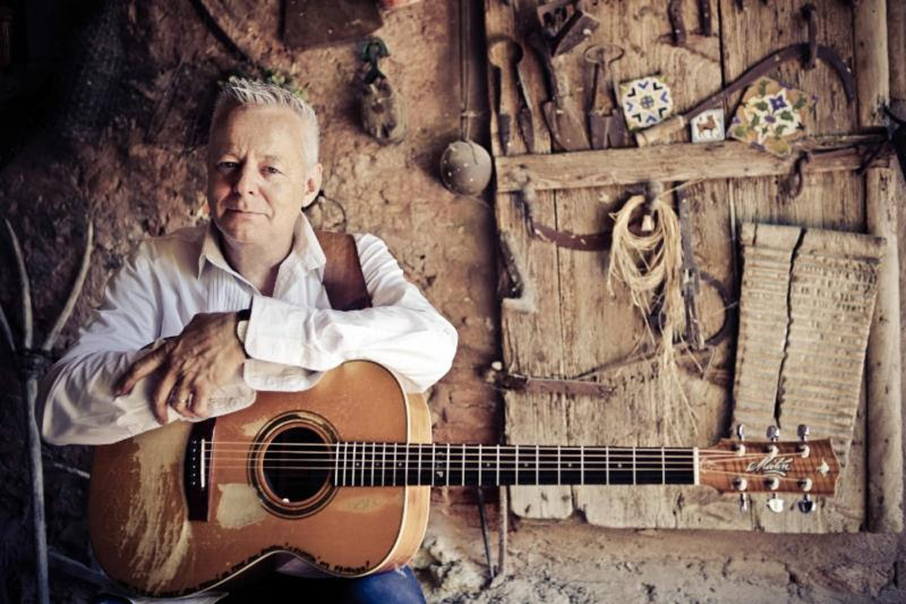 Finger-style guitarist Tommy Emmanuel is sure to wow the audience at the Marjorie Luke Theatre in Santa Barbara on July 22.