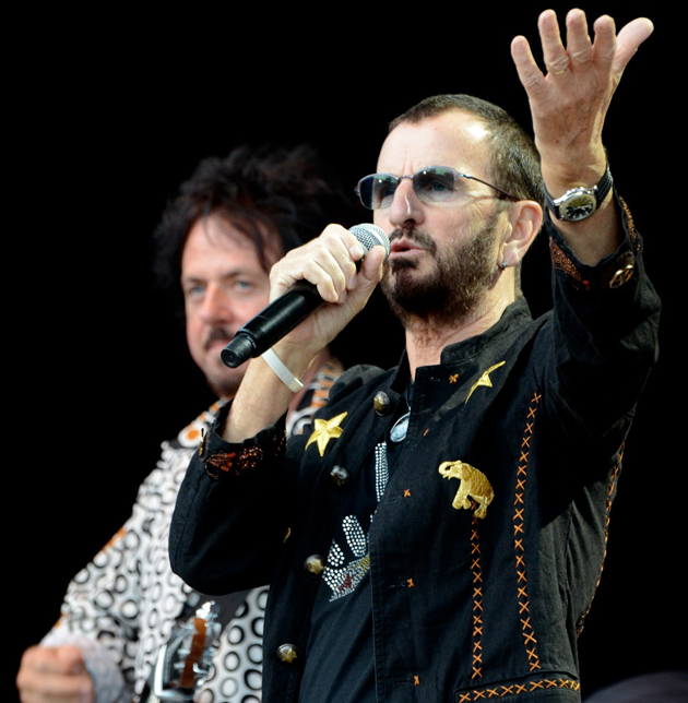 <p>Former Beatle Ringo Starr performs Saturday night with his All Starr Band at the Santa Barbara Bowl.</p>
