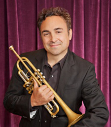 Composer Anthony DiLorenzo's day job is playing the trumpet.