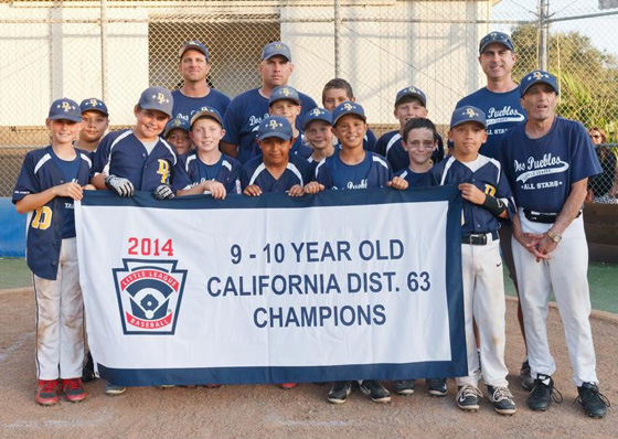 <p>The Dos Pueblos Little League 10-year-old All-Stars scored their first District 63 Championship since 2007.</p>